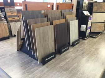 Showroom display at Bendele Abbey Flooring & Rug in Fort Myers, FL