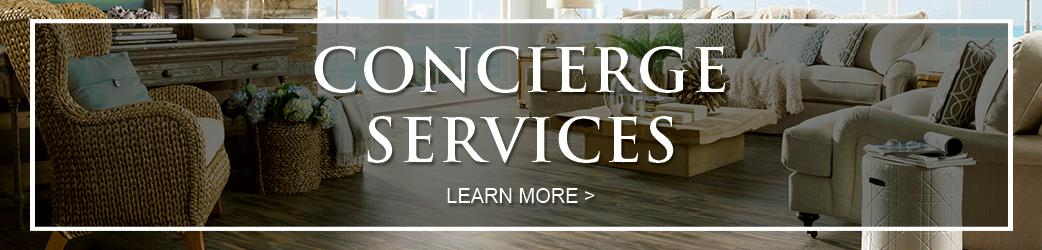 Bendele Abbey Flooring & Rug offers an exclusive concierge service.  Click here to see all of your benefits!