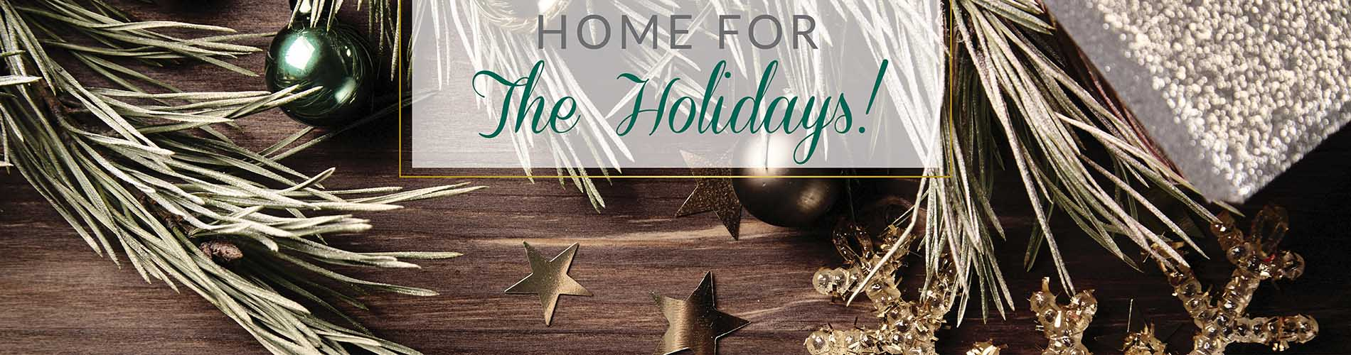 Home for the Holidays Flooring Sale at Abbey Carpet & Floor