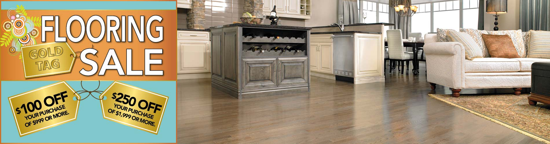 National Gold Tag Flooring Sale at Bendele Abbey in Fort Myers