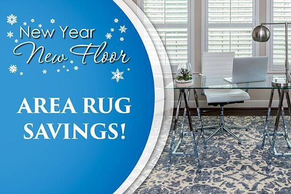 New Year New Floor Area rug savings!
