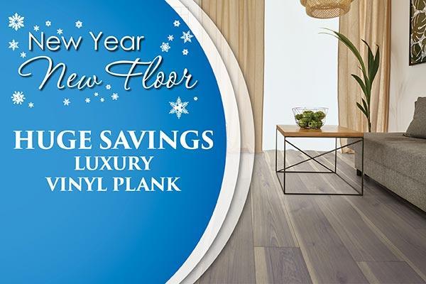New Year New Floor huge saving on luxury vinyl plank