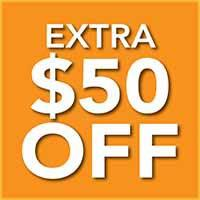 Take an extra $50 off for every $500 you spend at Bendele Abbey Flooring & Rug
